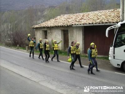 Rafting Río Ara; asociaciones de montaña madrid; rutas sierra guadarrama